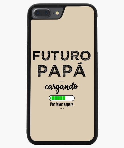 Cover iPhone 7 Plus / 8 Plus futuro papà...