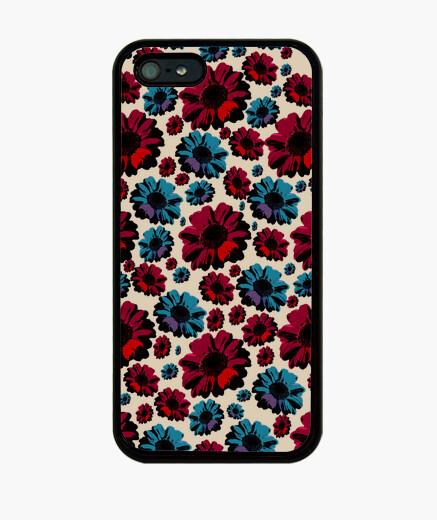 Cover iPhone pannello fiori