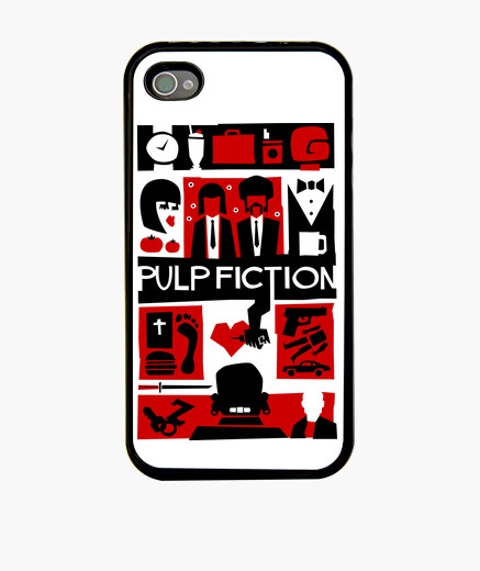 Cover iPhone Pulp Fiction (Saul Bass Style)