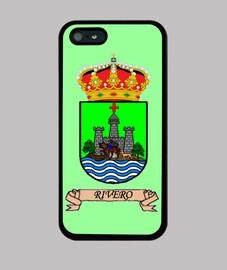 cover iphone scudo cognome rivero