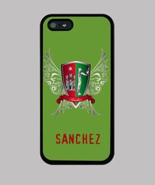 cover iphone scudo cognome sanchez