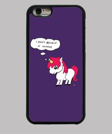 cover iphone sei unicorno