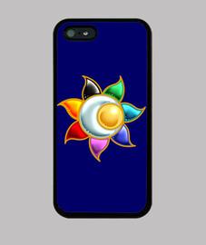 cover iphone simbolo del sole cerchio