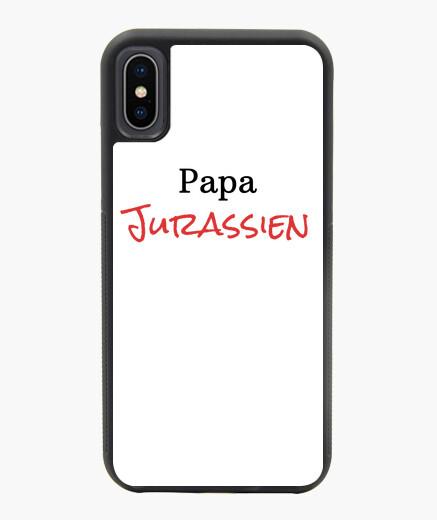 Cover iPhone X / XS Papà giurassico