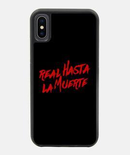 cover iphone x / xs reali fino alla morte