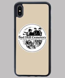 cover iphone xs maxsad hill logo