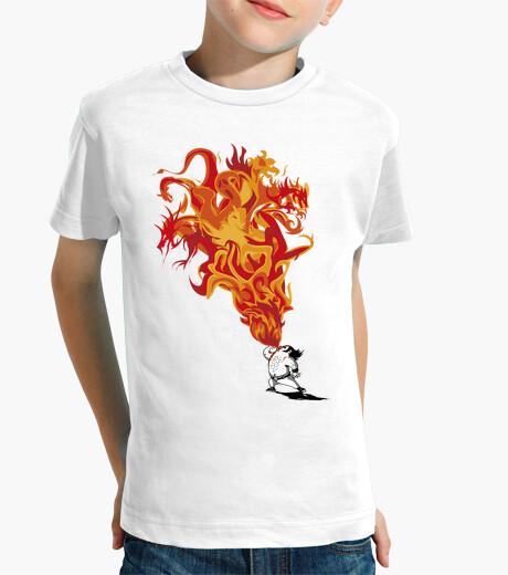 Vêtements enfant Cracheur de feu