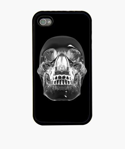 Coque iPhone crâne de cristaux - cristaux crâne