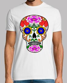 crâne de style mexicain