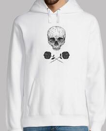 crâne n roses