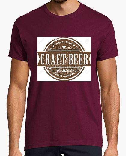 Camiseta Craft Beer. Cerveza artesanal