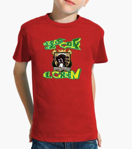 Vêtements enfant craint les enfants verts
