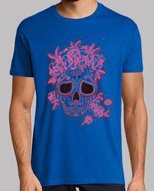 crâne calavera, style mexicain