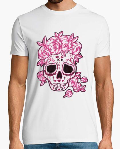 Shirt Tee Crâne Shirt CalaveraStyle Shirt Crâne Tee Mexicain CalaveraStyle Mexicain Crâne Tee qMVGLpzUjS