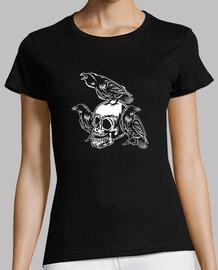 crâne corbeau