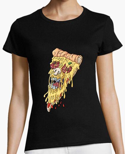 Tee-shirt crâne de pizza