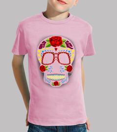crâne de sucre de style mexicain !!!