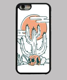 crâne et cactus