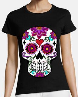 crâne floral cooltee. latoster