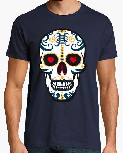 Tee-shirt crâne héroïque