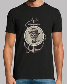 crâne marin garçon noir