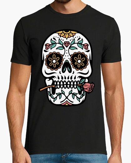 Tee-shirt crâne mexicain
