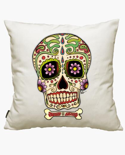 Housse de coussin crâne mexicain !!!