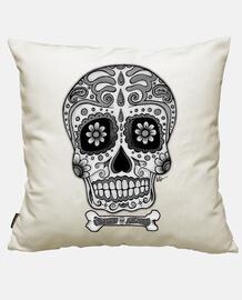 Crâne Mexicain noir et blanc  !!!