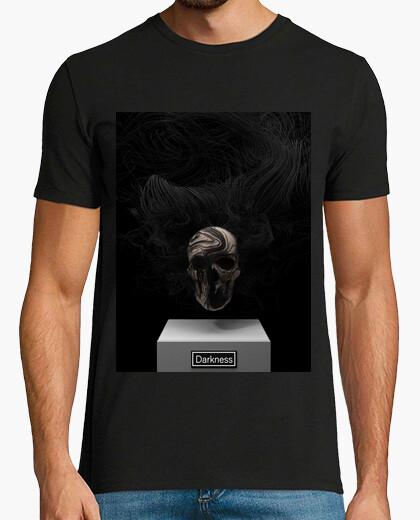 Tee-shirt crâne obscurité 1