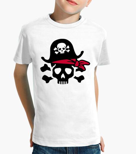Vêtements enfant crâne pirate