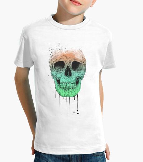 Vêtements enfant crâne pop art