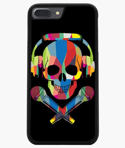 Coque Iphone 7 Plus / 8 Plus crâne rétro