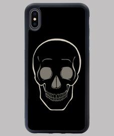 Crâne simple - pour fond sombre