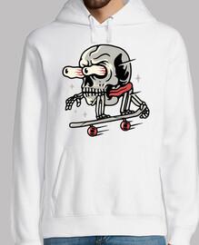 crâne skateboard