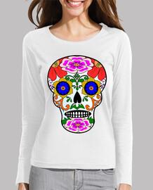 Crâne style mexicain
