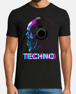 crâne techno