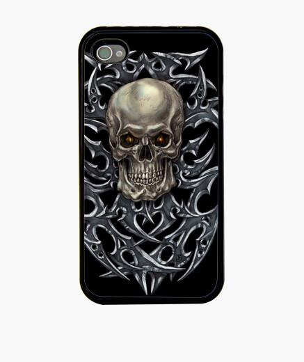 Coque iPhone crâne tribal