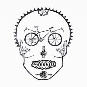 Camisetas Craneo bike