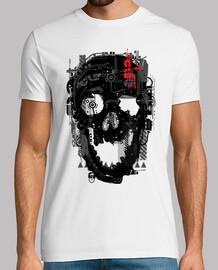 cráneo cyborg
