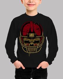 cráneo de fútbol americano