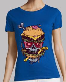 cráneo de hamburguesa