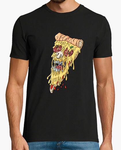 Camiseta cráneo de la pizza