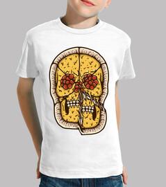cráneo de pizza