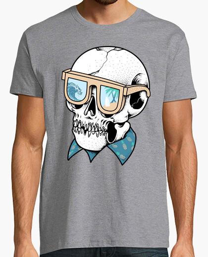Camiseta cráneo de verano