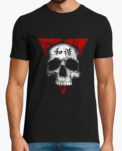 Camiseta cráneo en la paz