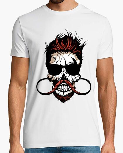 Camiseta cráneo inconformista cráneo cráneo barb