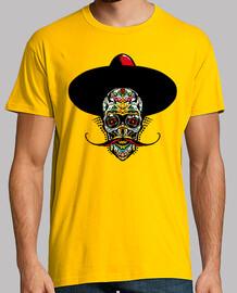 cráneo mexicano cabeza de cráneo barbud