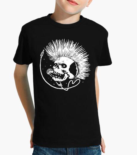 Ropa infantil cráneo punk