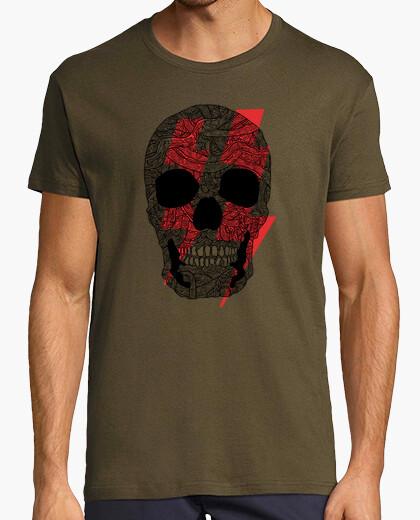 Camiseta Cráneo rayos de poder