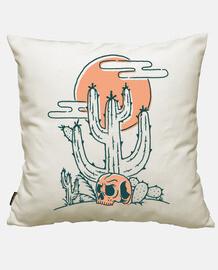 cráneo y cactus